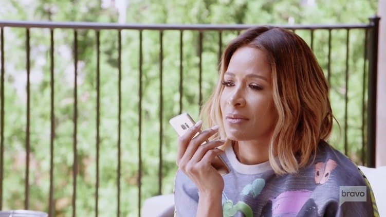 Sheree Whitfield calls her soul mate Tyrone