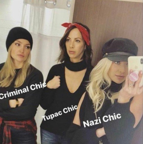 """Stassi Schroeder Faces Criticism After Describing Her Outfit As """"Nazi Chic"""""""