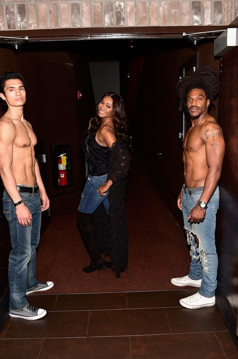 Cynthia Bailey Hosts Viewing Party For Fifty Shades Freed Movie