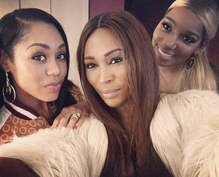 Real Housewives Of Altanta & Potomac Support NeNe Leakes At Comedy Show In Washington DC- Photos