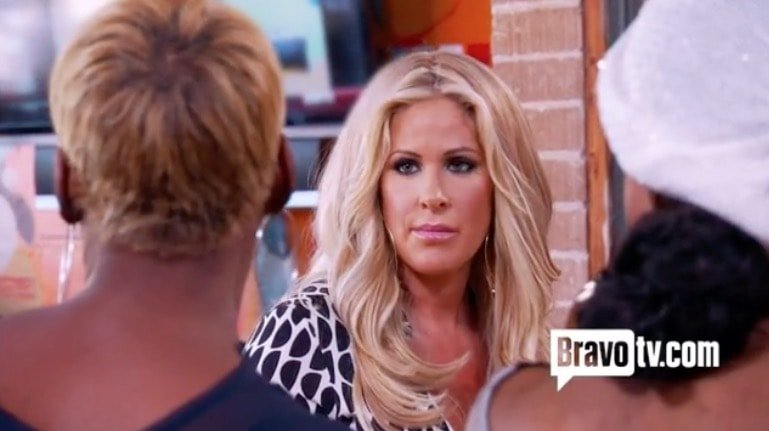 Kim Zolciak quits RHOA - The first time