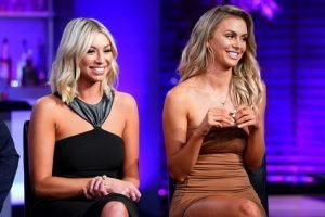 Stassi Schroeder & Lala Kent Weigh In On Lisa Vanderpump Dog Drama; Stassi Says Lisa's Hands Aren't Clean