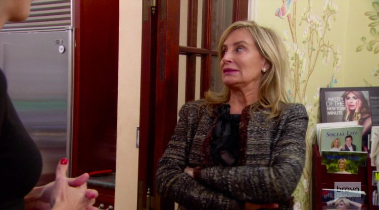 Real Housewives Of New York Recap: Grief And Relief