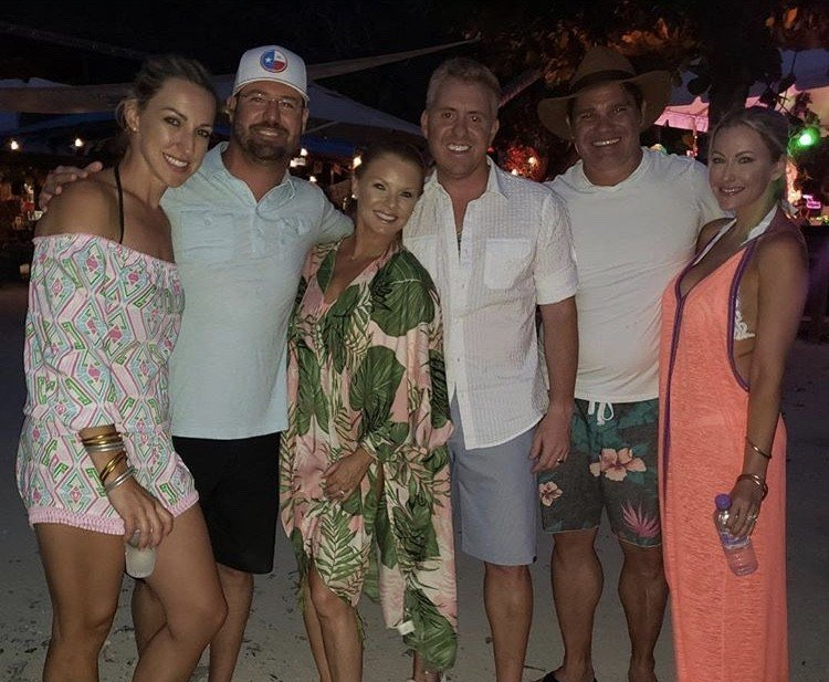 Dallas Housewives Stephanie Hollman & Brandi Redmond Vacation In British Virgin Islands- Photos