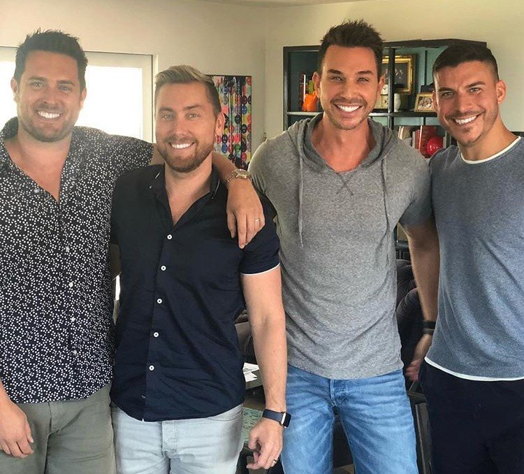 Jax Taylor Is Working On A Business Venture With Lance Bass