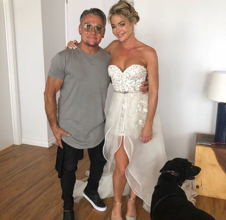 Denise Richards Responds To Backlash Over The Romper She Wore To Her Wedding