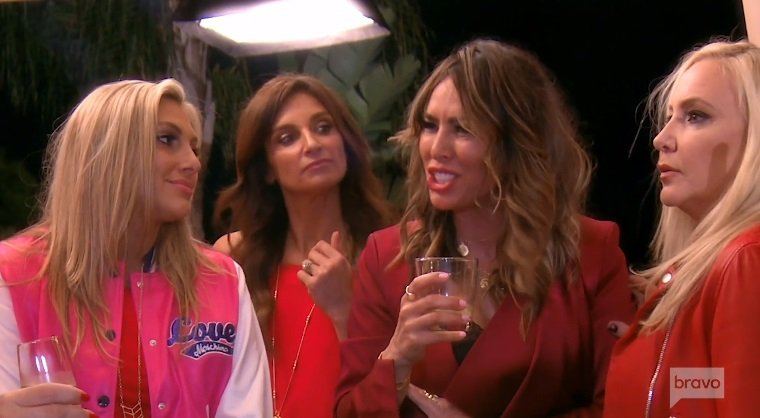 The Ladies Are Seeing Red On Tonight's Episode Of Real Housewives Of Orange County!