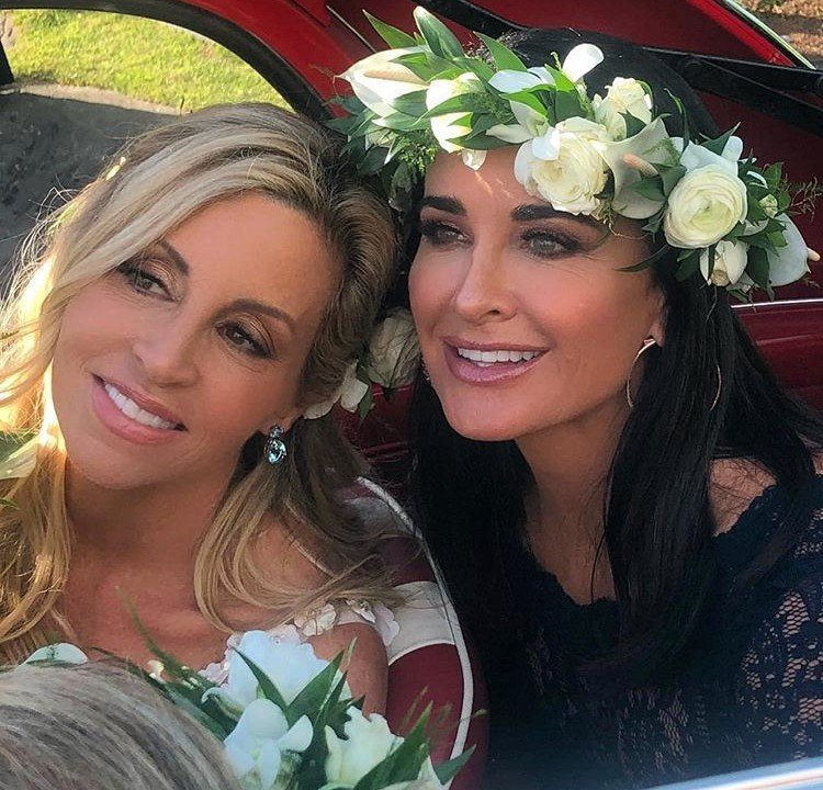Camille Grammer Is Married!