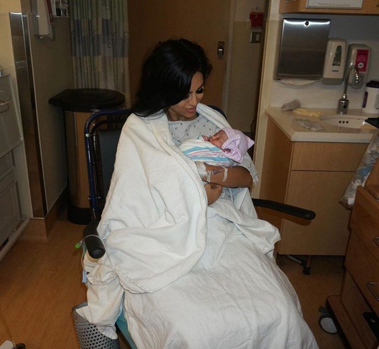 Lilly Ghalichi Gives Birth To A Baby Girl