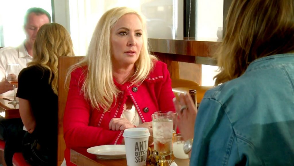Shannon Beador is waiting for