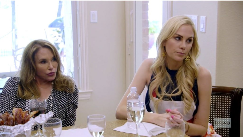 D'Andra gets a lecture from Kameron's mother in law