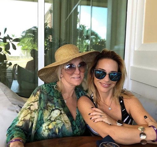 Margaret Josephs In The Bahamas- Photos