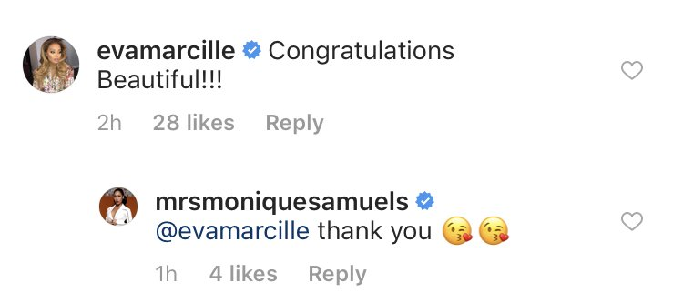 Monique Samuels Gives Birth To Third Child; Real Housewives React To The News