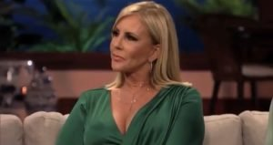 Vicki Gunvalson Uses Luke Perry's Death To Promote Her Own Business