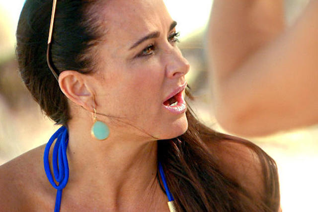 Kyle Richards In Puerto Rico