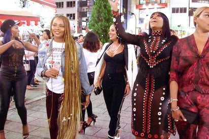 Real Housewives Of Atlanta in Tokyo, Japan