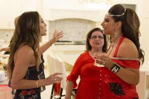 Melissa Gorga and Jennifer Aydin Spotted Fighting In The Hamptons