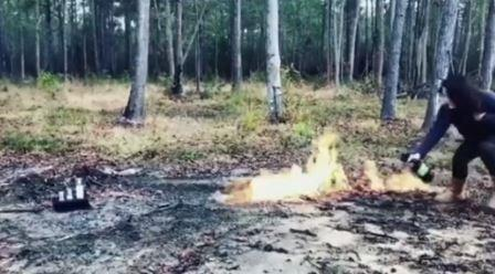 jenelle-lights-products-on-fire