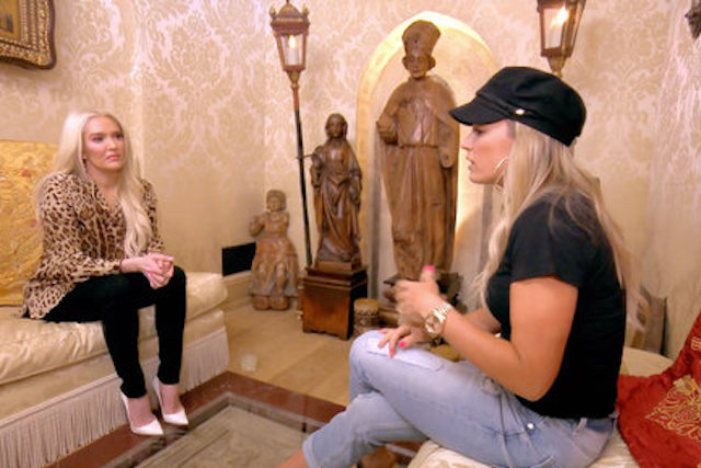 Teddi Mellencamp Arroyave & Erika Girardi - Real Housewives Of Beverly Hills