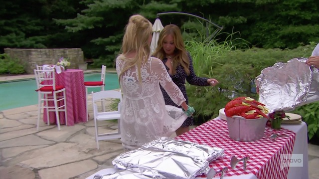 Sonja Morgan Lobsters