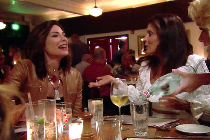 Real Housewives Of New York celebrate Luann's sobriety (again)