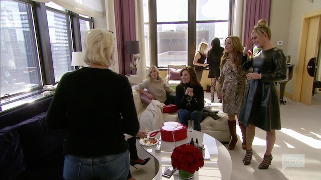 Real Housewives Of New York spa day