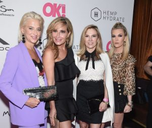 Sonja Morgan, Ashley Martson, Dorinda Medley, Kyle Cooke, & More Reality Stars Attend Ok! Magazine's Summer Kick Off Party- Check Out The Photos