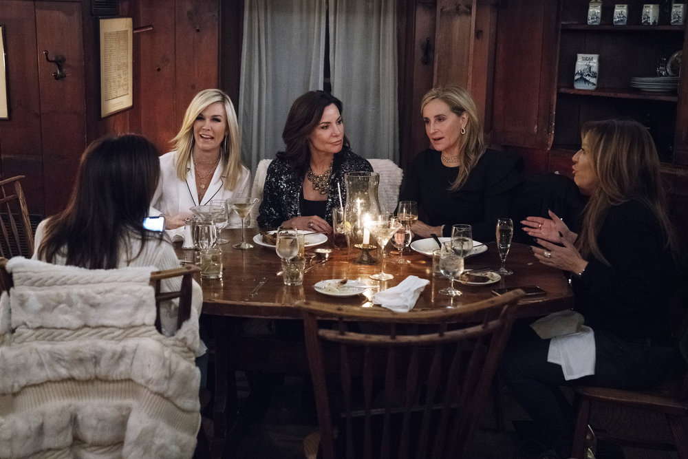 Sonja Morgan and Co-Stars Discuss Her Sharing A Hairbrush With Her Dog–And Wearing Diapers