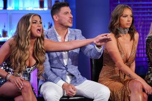 Ariana Madix, Kristen Doute, & Brittany Cartwright Comment On Jax Taylor's Feuds With His Vanderpump Rules Costars