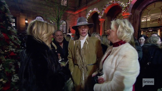 Real Housewives Of New York tree lighting