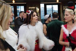 "Bethenny Frankel Says That RHONY ""Is A Pretty Taxing Process"""