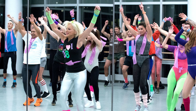 Real Housewives Of New York aerobics