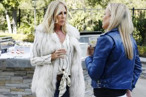 "Vicki Gunvalson Said That Bethenny Frankel Left Housewives Because She ""Can't Handle The Hardship"""