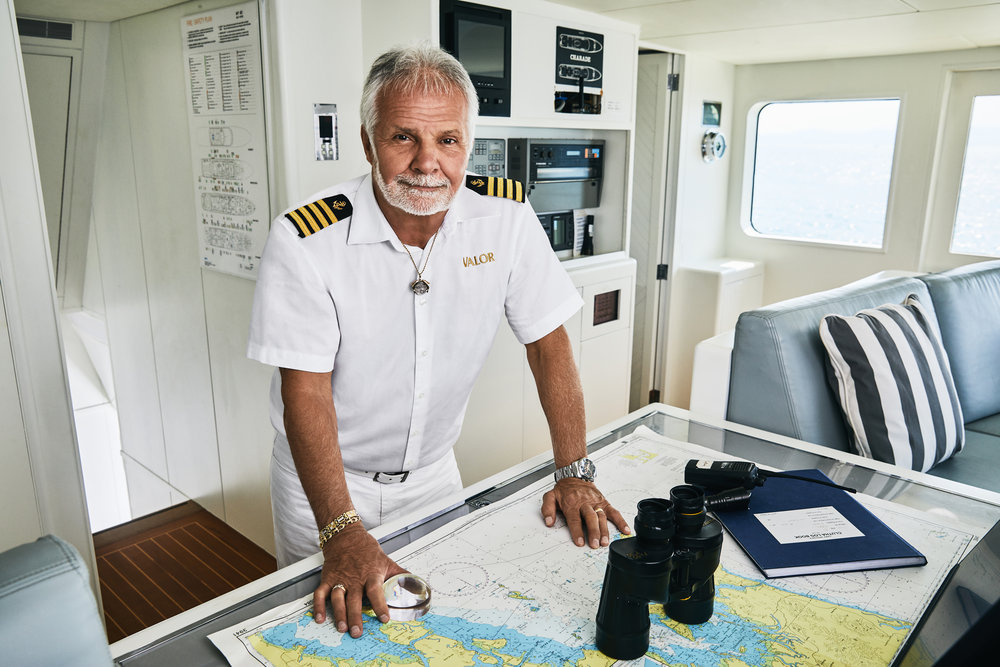 Captain Lee Dishes On Which Bravo Stars He Would Like To Have As Crew Members
