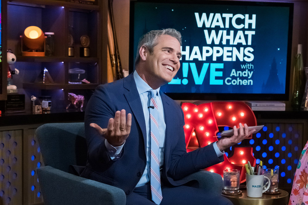 Andy Cohen Dishes On The Possibility Of Felicity Huffman Becoming A Real Housewife Of Beverly Hills