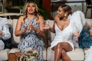 Candiace Dillard Confronts Her Mom On Tonight's Real Housewives Of Potomac Reunion
