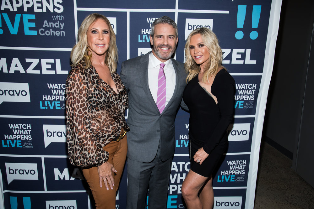 "Andy Cohen Responds To ""Ageist"" Claim Regarding Tamra Judge & Vicki Gunvalson's Firings"