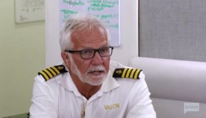 Captain Lee Rosbach Below Deck