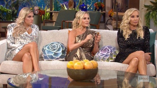 Gina Kirschenheiter Tamra Judge Shannon Beador Real Housewives Of Orange County Reunion Part 1
