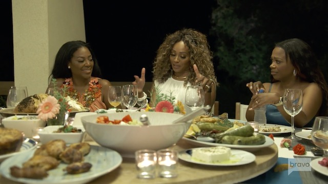 Cynthia Bailey Kenya Moore Kandi Burruss Real Housewives Of Atlanta