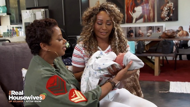 Cynthia Bailey Eva Marcille Real Housewives Of Atlanta