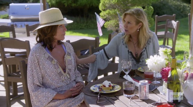 Real Housewives Of New York Luann de Lesseps Ramona Singer