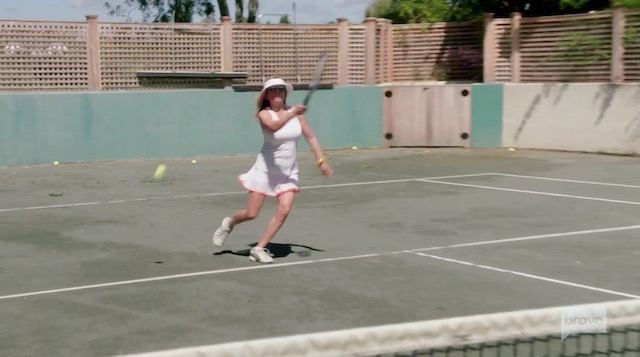 Real Housewives Of New York Ramona Singer Tennis