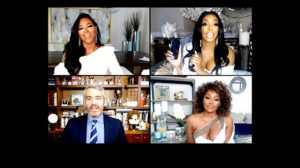 Real Housewives Of Atlanta Porsha Williams Andy Cohen Kenya Moore Cynthia Bailey