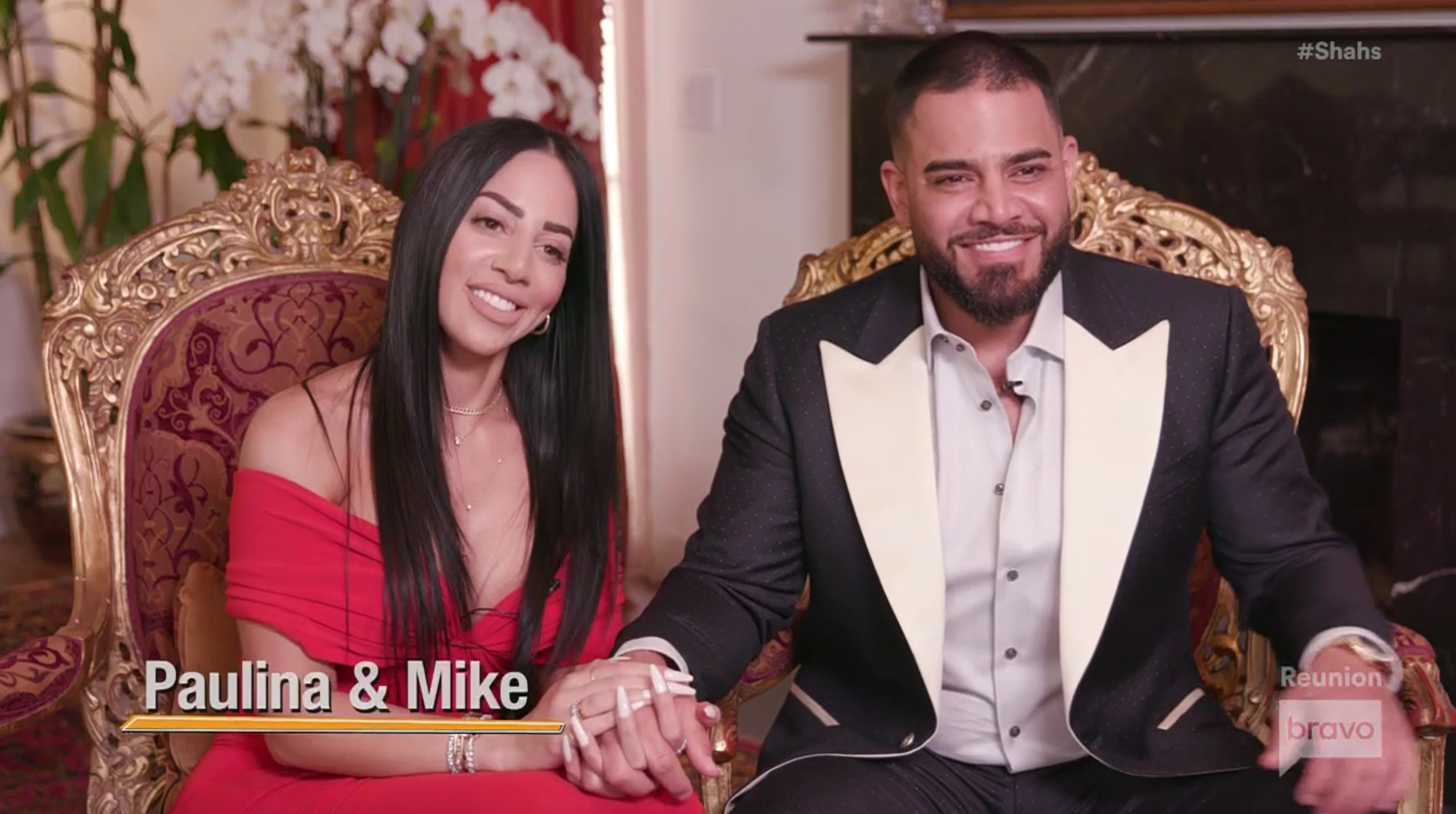 Shahs Of Sunset Reunion Mike Shouhed Paulina