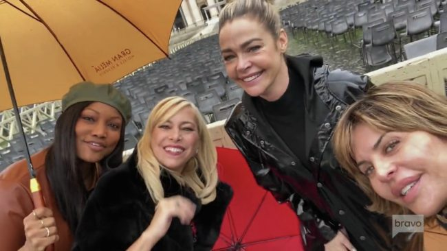 Garcelle Beauvais Sutton Stracke Denise Richards Lisa Rinna Real Housewives Of Beverly Hills