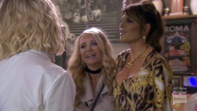 Kim Richards Lisa Rinna Real Housewives Of Beverly Hills