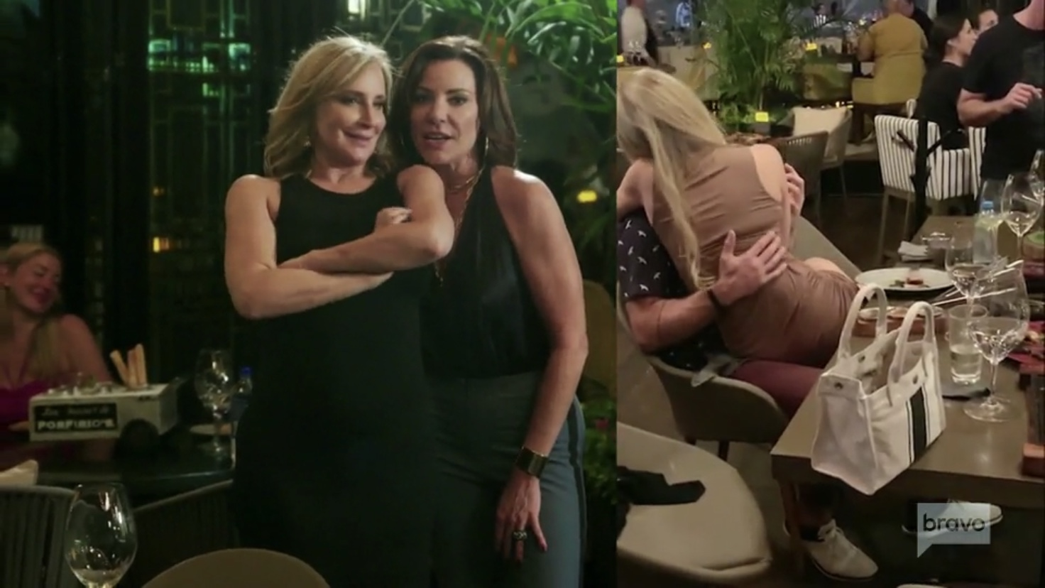Sonja Morgan Luann de Lesseps Leah McSweeney Real Housewives Of New York
