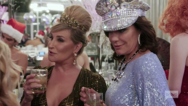 Sonja Morgan Luann De Lesseps Real Housewives Of New York