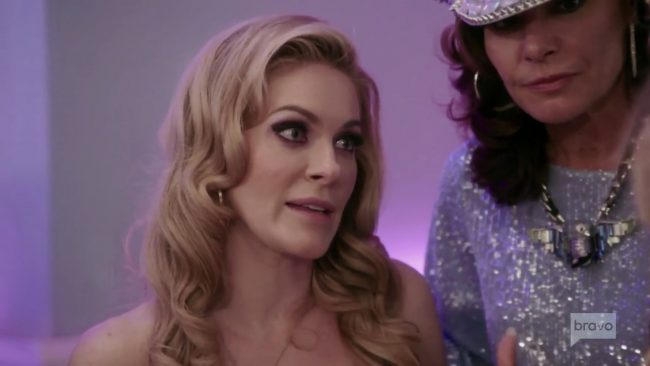 Leah McSweeney Luann De Lesseps Real Housewives Of New York